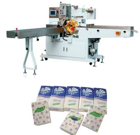 Automatic Handkerchiefs packing machine