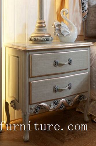 Night stands classical night stand bedside table wooden handcraft bedroom furniture FN-103