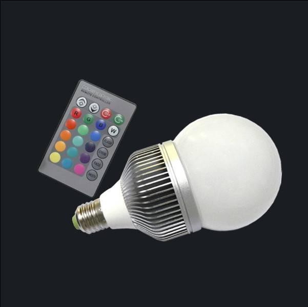 cheap 10w RGB bulb spotlight High quality High efficient led spot rgb bulb light