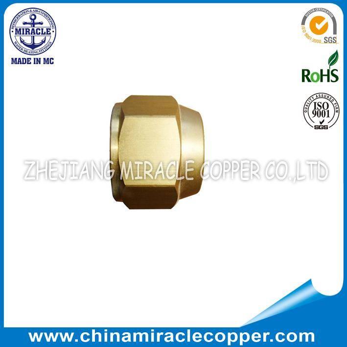 Refrigeration Brass Reducer Nut