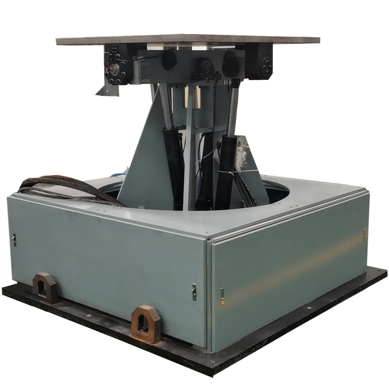 tilting and swing test system