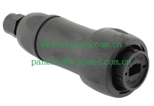 Souriau UTS6JC18MPN Male Connector ( Plug for optical fiber MP/MPO contacts)