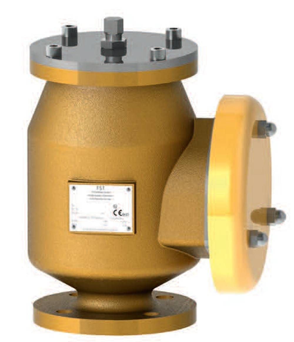 FST520 Pressure and vacuum valve