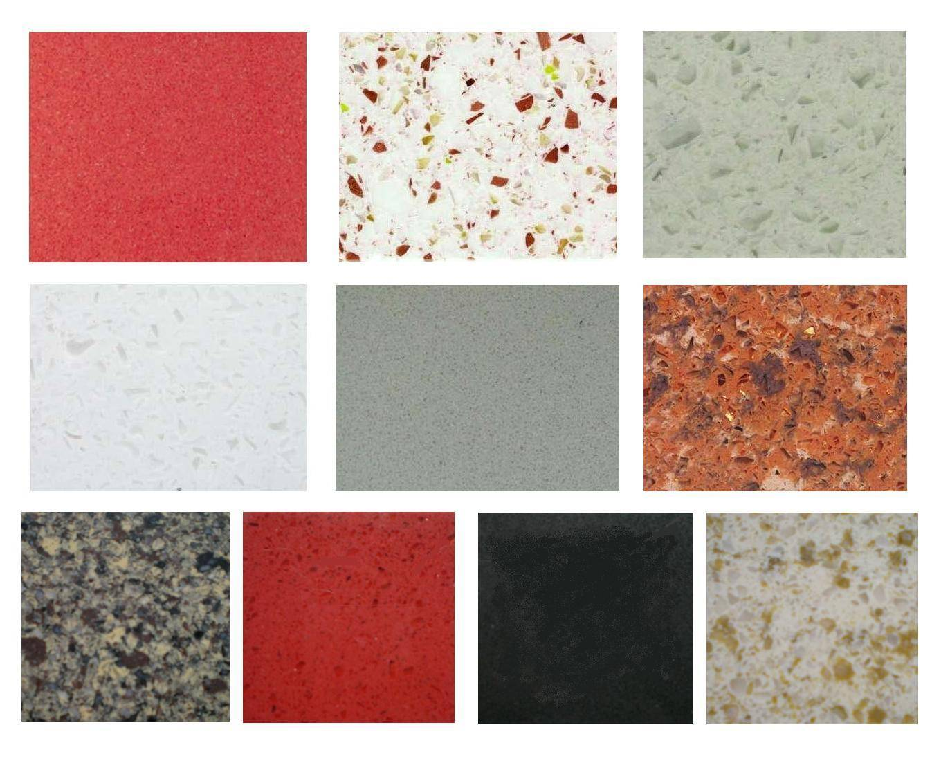 Chinese synthetic quartz slabs (sheets)