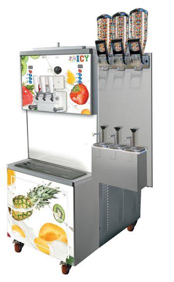 Powerful Soft Ice Cream Machine 1100 cones/hour
