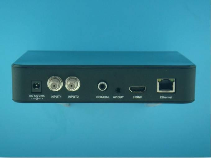 Dual Tuner NAGRA 3 Satellite Receptor Azbox Bravissimo HD