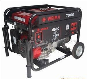 6.5KVA Gasoline Open Generator with WEIMA Egine
