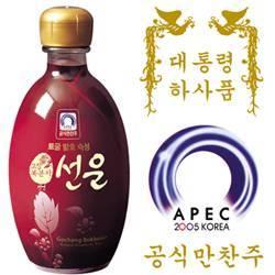 Korean BlackRaspberry Wine(15%, 375ml)