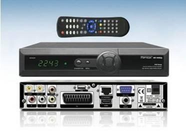 2011 hot set top box HD satellite receiver orton403