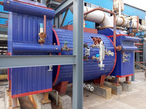 Waste Heat Steam Boiler Exhaust gas Boiler for Biogas Power Generation