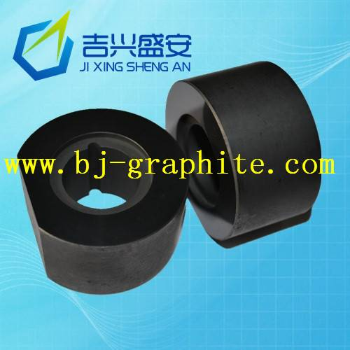 High temperature and high lubricating graphite bearings