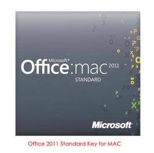 Office Mac 2011 Home and Business Key