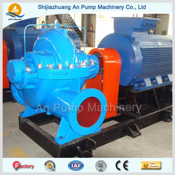water split casing pump