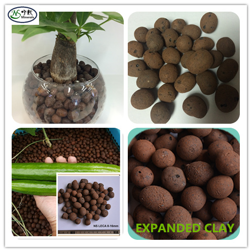 8-16mm Expanded Clay for hydroponics