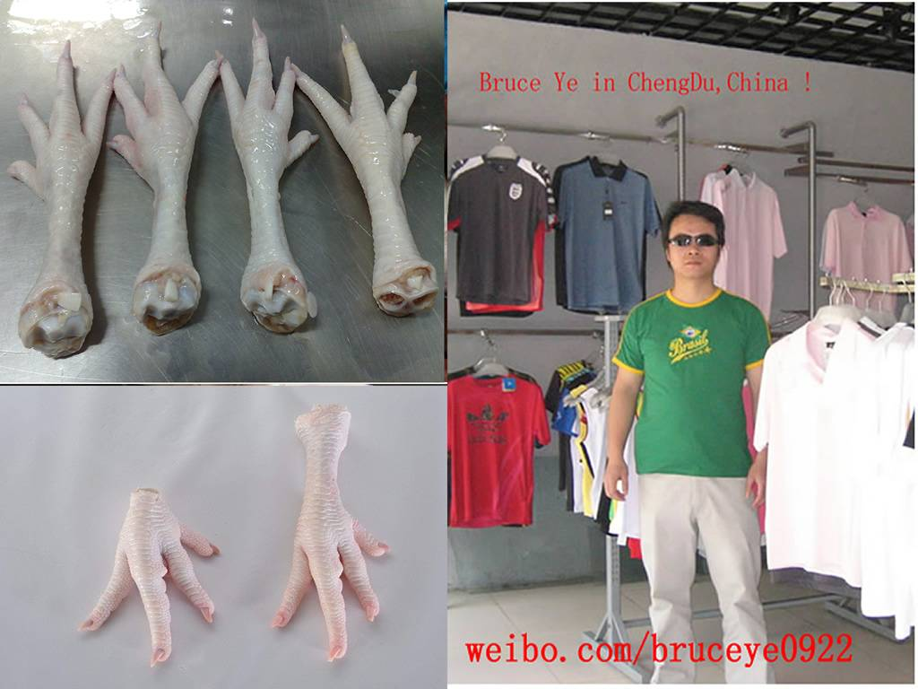 Urgently Buy Frozen Chicken Paw and Feet