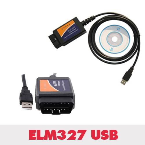ELM327 Scanner Software USB plastic