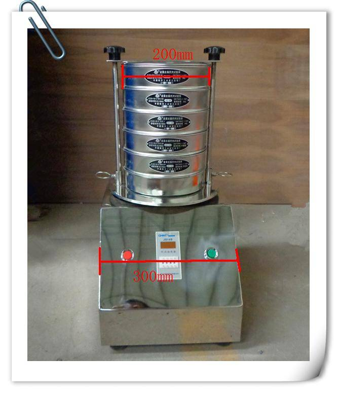 SUS304 lab test vibrating sieve with CE