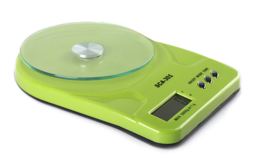 Electronic LCD 5kg Manual Kitchen Scale 10000g 0.1g/1g