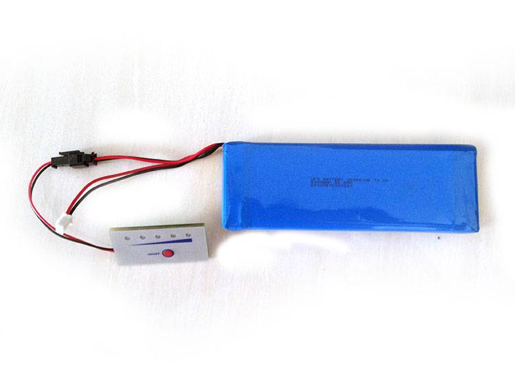 11.1V 5Ah Lithium ion Polymer Battery Pack
