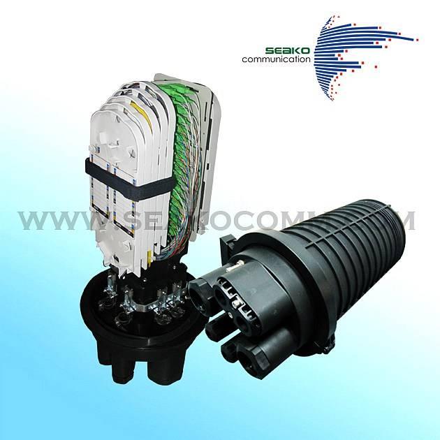 Dome-Splitter Series Fiber Optic Splice Closure