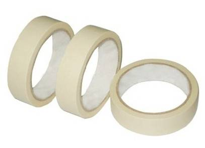 clear masking tape