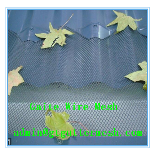 Produce and Export Aluminium Gutter Leaf Guard Mesh
