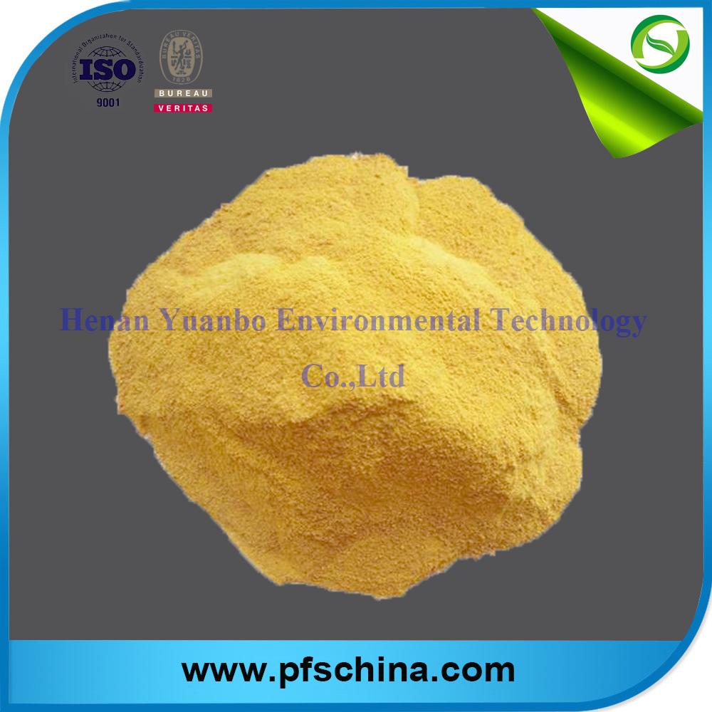 Chinese High quality Polymeric Ferric Sulfate(PFS) for water treatment