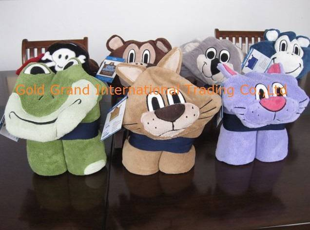 Sell kids cuddly creature throw with hood