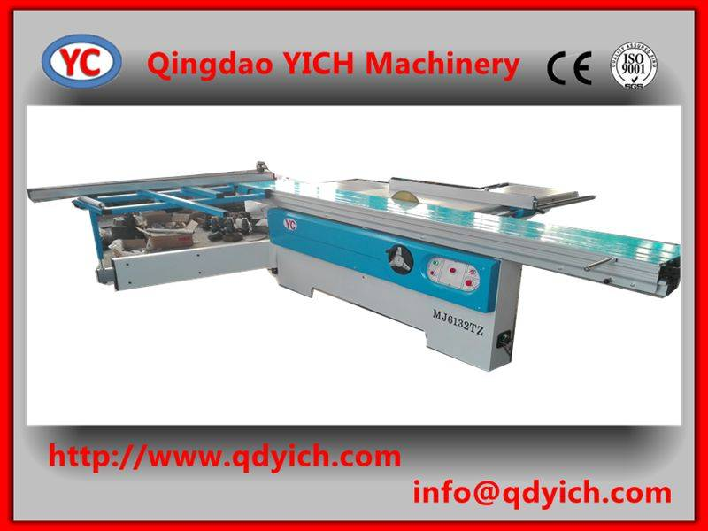 3.2m table length wood cutting saw/sliding table saw