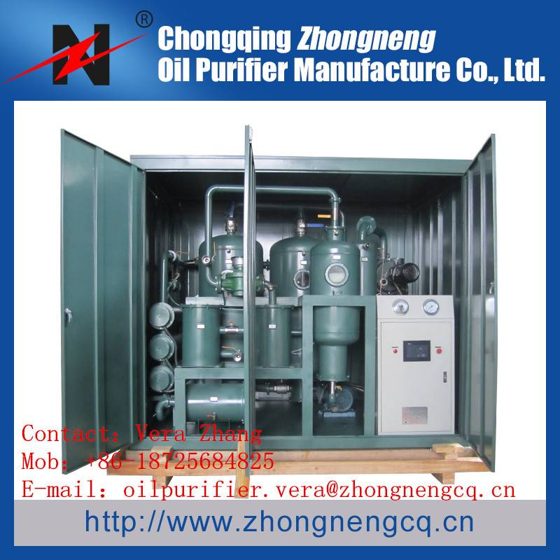 Double-Stage Vacuum Insulating Oil Regeneration Purifier/ Transformer Drying machine