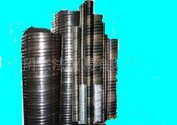 metal ripple pipes