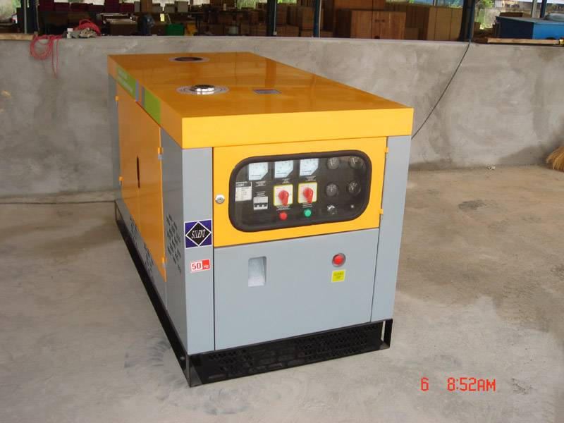 generator set engine pump