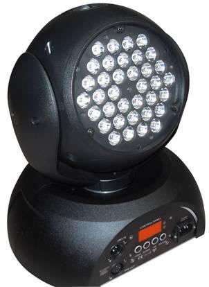 36X3W led moving head lights