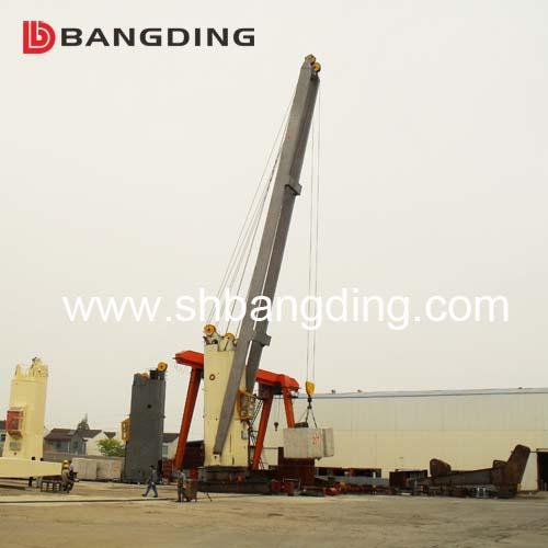 Hydraulic Electric Marine Deck Crane Ship Crane