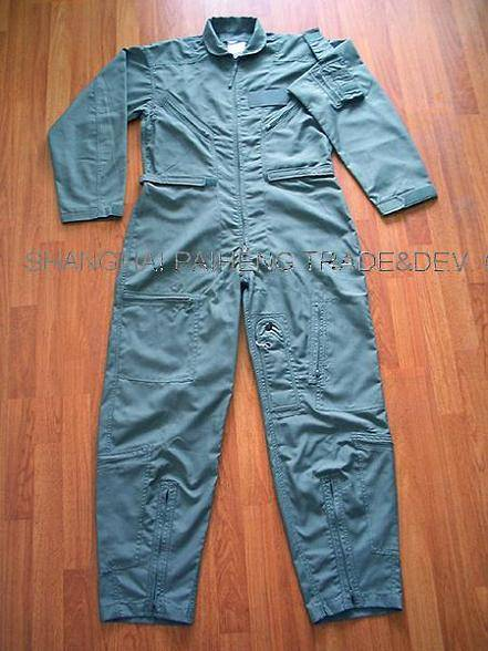 Sell Flight Suit CWU 27/P MIL-C-83141A/Pilot Suit/Flyer Coverall/Pilot Coverall