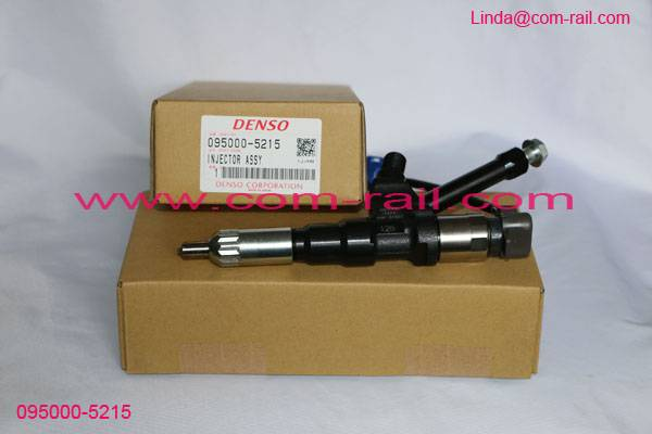 Brand Orignial Diesel Common Rail Injector 095000-5215 095000-5213 For HINO P11C Kobelco SK450