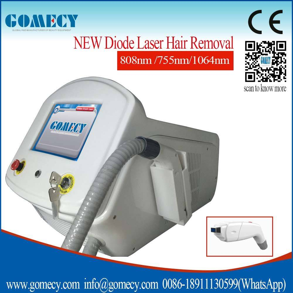 2016 Newest 808nm Beauty Personal Care Machine For Diode Laser Hair Removal