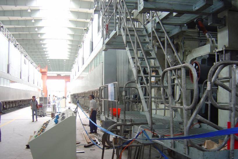 3600 corrugated paper machine