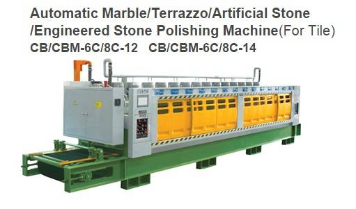 Automatic Marble Calibrating Machine (for tile) CB/CBM-6C/8C-12 & CB/CBM-6C/8C-14