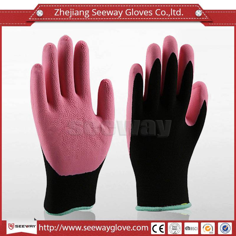 SeeWay Latex Coated Work Gloves