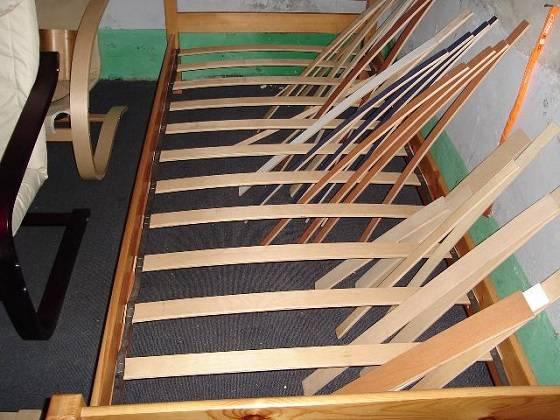 Laminated bed slats