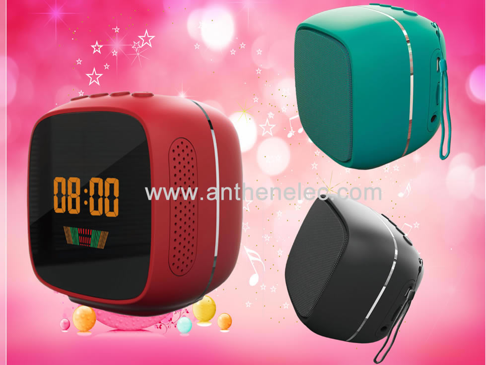 Bluetooth Speaker with LED Screen