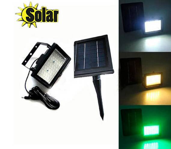 45led solar led flood light Super Bright led spot Lamp bulb outdoor lighting Garden Light Wall& Land