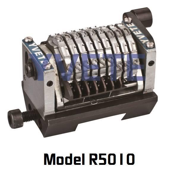Flat base Rotary numbering machine