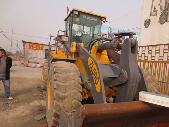 USED XCMG ZL50G WHEEL LOADER FOR SALE