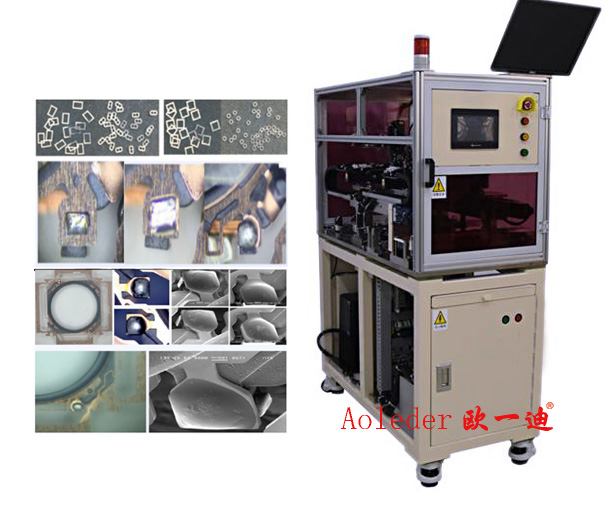 Tin Wire Soldering Machine,Automatic Optical Inspection of Soldering,CWLS-W