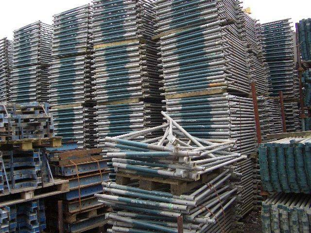 PAL Stacking Tower 216 Pieces - Used Scaffold Used Formwork