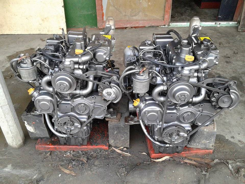 Engines for boat