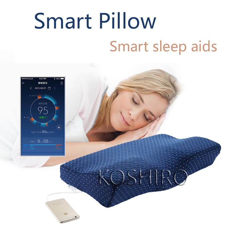 Smart Memory Foam Pillow with Smart Music Sleep Aids