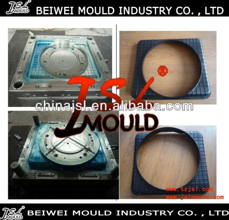 Injection plastic radiator cooling fan shroud mould
